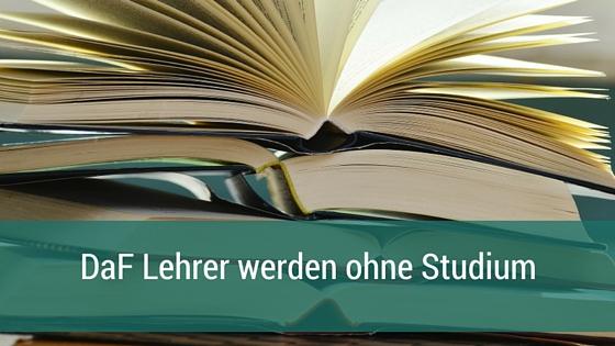 Daf-Zertifikat Ohne Studium