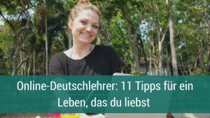 Online-Deutschlehrer