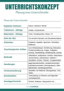 Tutor Compass Sprachlehrer Unterrichtskonzept Poster