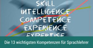 Kompetenzen für Sprachlehrer