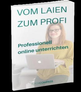 Professionell online unterrichten
