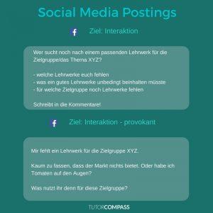 Interaktionen auf Social Media helfen, mit der Community ins Gespräch zu kommen