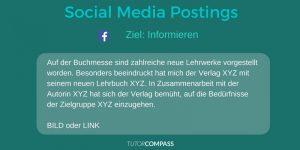 Informative Social Media Postings wecken beim Leser ein größeres Interesse