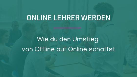 Online-Lehrer werden
